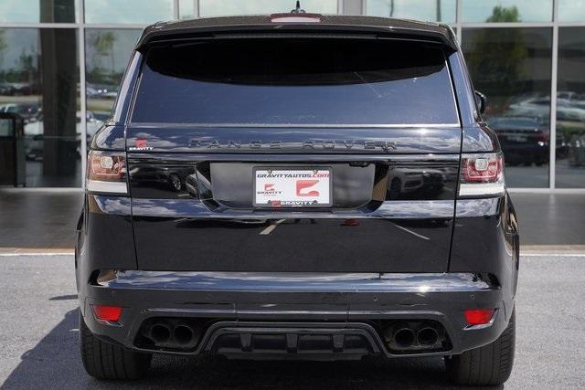 Used 2016 Land Rover Range Rover Sport 5.0L V8 Supercharged SVR for sale $62,991 at Gravity Autos Roswell in Roswell GA 30076 12