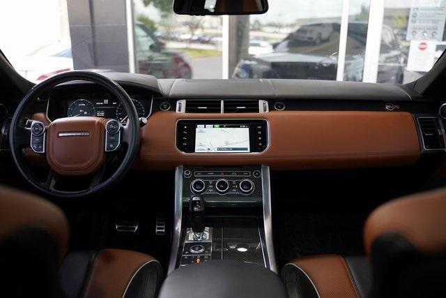 Used 2016 Land Rover Range Rover Sport 5.0L V8 Supercharged SVR for sale $62,991 at Gravity Autos Roswell in Roswell GA 30076 15