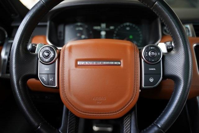 Used 2016 Land Rover Range Rover Sport 5.0L V8 Supercharged SVR for sale $62,991 at Gravity Autos Roswell in Roswell GA 30076 18