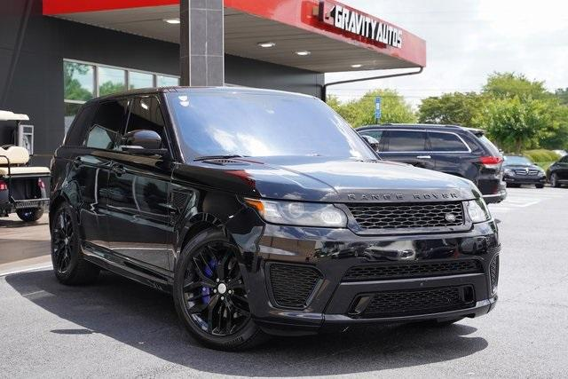 Used 2016 Land Rover Range Rover Sport 5.0L V8 Supercharged SVR for sale $62,991 at Gravity Autos Roswell in Roswell GA 30076 2