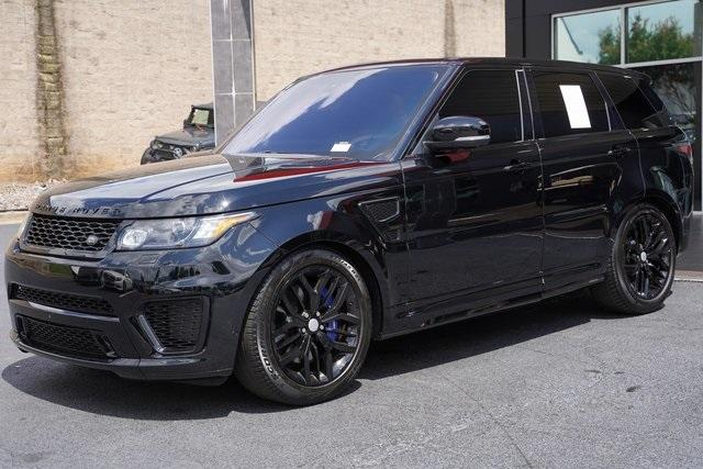 Used 2016 Land Rover Range Rover Sport 5.0L V8 Supercharged SVR for sale $62,991 at Gravity Autos Roswell in Roswell GA 30076 5