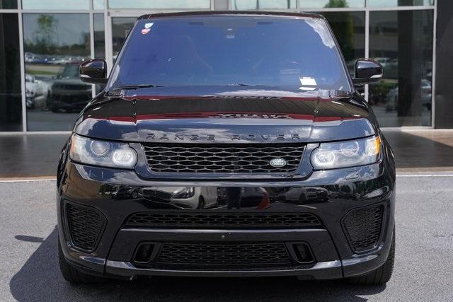 Used 2016 Land Rover Range Rover Sport 5.0L V8 Supercharged SVR for sale $62,991 at Gravity Autos Roswell in Roswell GA 30076 6