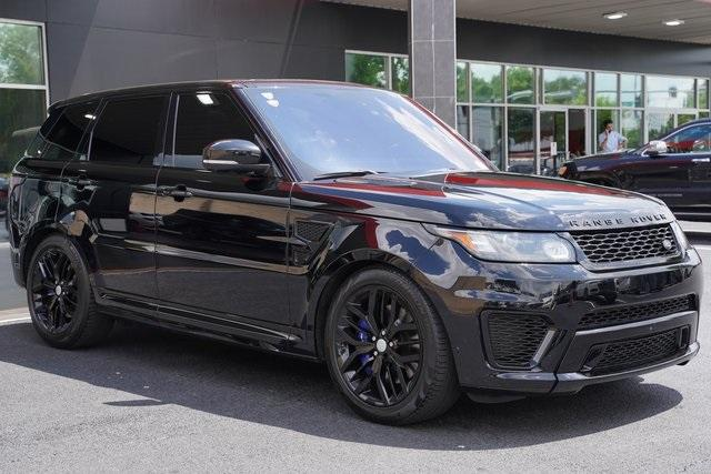 Used 2016 Land Rover Range Rover Sport 5.0L V8 Supercharged SVR for sale $62,991 at Gravity Autos Roswell in Roswell GA 30076 7