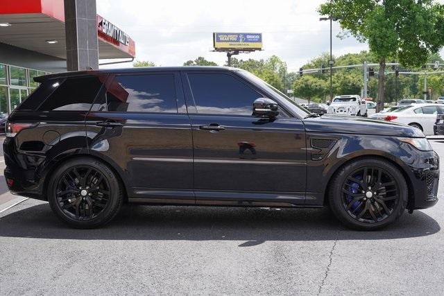 Used 2016 Land Rover Range Rover Sport 5.0L V8 Supercharged SVR for sale $62,991 at Gravity Autos Roswell in Roswell GA 30076 8