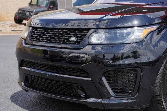 Used 2016 Land Rover Range Rover Sport 5.0L V8 Supercharged SVR for sale $62,991 at Gravity Autos Roswell in Roswell GA 30076 9