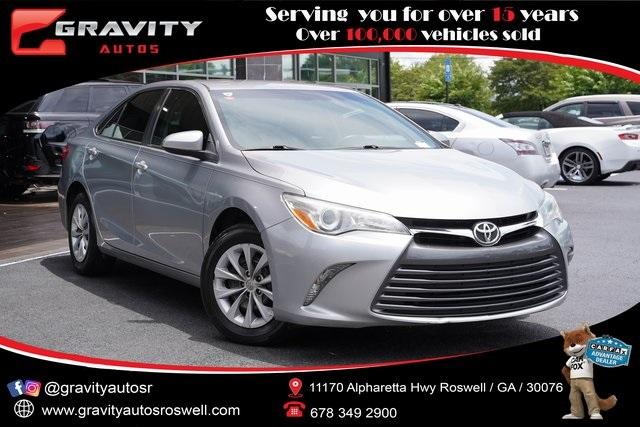 Used 2015 Toyota Camry LE for sale $17,991 at Gravity Autos Roswell in Roswell GA 30076 1