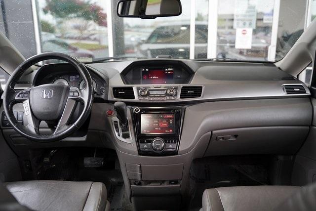 Used 2015 Honda Odyssey EX-L for sale $21,996 at Gravity Autos Roswell in Roswell GA 30076 14