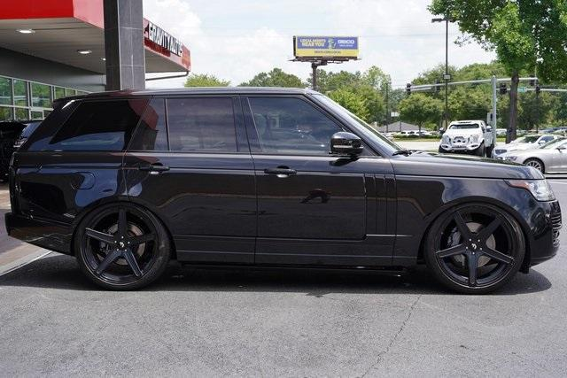Used 2014 Land Rover Range Rover 5.0L V8 Supercharged Autobiography for sale $52,991 at Gravity Autos Roswell in Roswell GA 30076 8