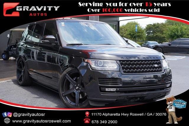 Used 2014 Land Rover Range Rover 5.0L V8 Supercharged Autobiography for sale $52,991 at Gravity Autos Roswell in Roswell GA 30076 1