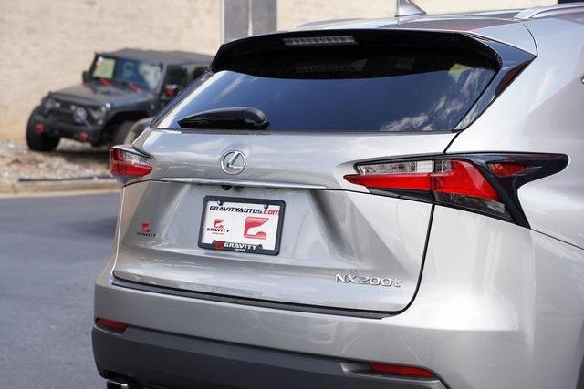 Used 2017 Lexus NX 200t for sale $29,991 at Gravity Autos Roswell in Roswell GA 30076 14