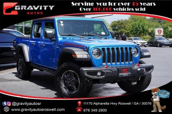 Used 2020 Jeep Gladiator Rubicon for sale $55,991 at Gravity Autos Roswell in Roswell GA