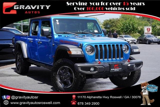 Used 2020 Jeep Gladiator Rubicon for sale $50,996 at Gravity Autos Roswell in Roswell GA 30076 1