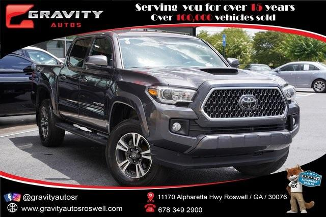 Used 2019 Toyota Tacoma TRD Sport for sale Sold at Gravity Autos Roswell in Roswell GA 30076 1