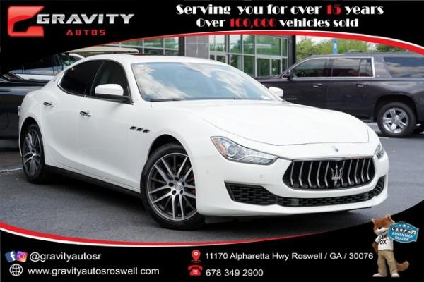 Used 2018 Maserati Ghibli for sale $44,991 at Gravity Autos Roswell in Roswell GA
