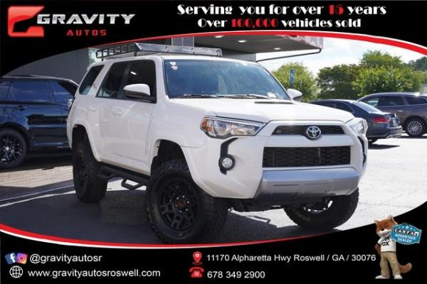 Used 2018 Toyota 4Runner SR5 for sale $47,991 at Gravity Autos Roswell in Roswell GA