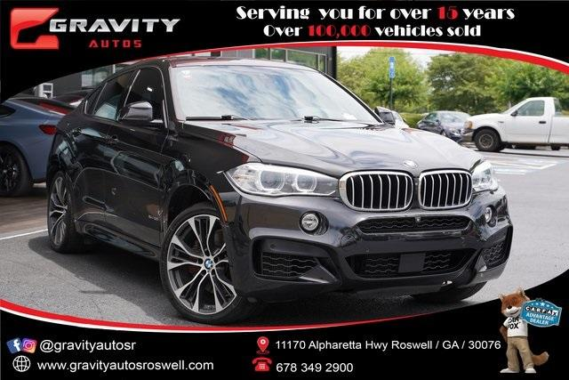 Used 2018 BMW X6 xDrive50i for sale $52,992 at Gravity Autos Roswell in Roswell GA 30076 1