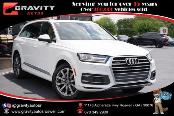 Used 2018 Audi Q7 2.0T Premium for sale $38,991 at Gravity Autos Roswell in Roswell GA