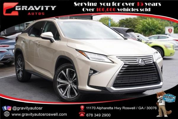 Used 2017 Lexus RX 350 for sale $39,992 at Gravity Autos Roswell in Roswell GA