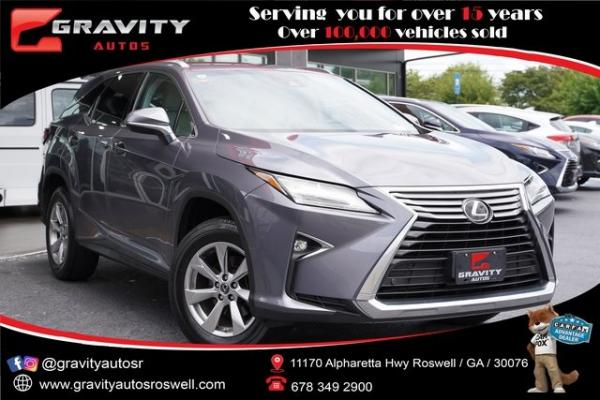 Used 2018 Lexus RX 350L for sale $41,991 at Gravity Autos Roswell in Roswell GA
