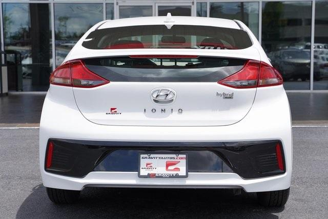 Used 2018 Hyundai Ioniq Hybrid Blue for sale Sold at Gravity Autos Roswell in Roswell GA 30076 13