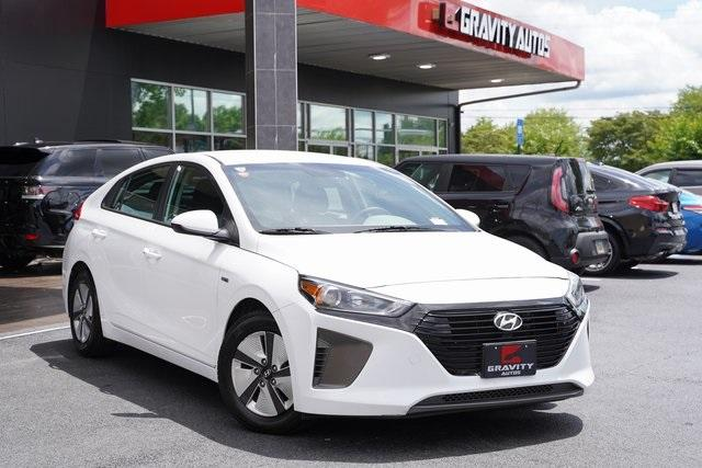 Used 2018 Hyundai Ioniq Hybrid Blue for sale Sold at Gravity Autos Roswell in Roswell GA 30076 2