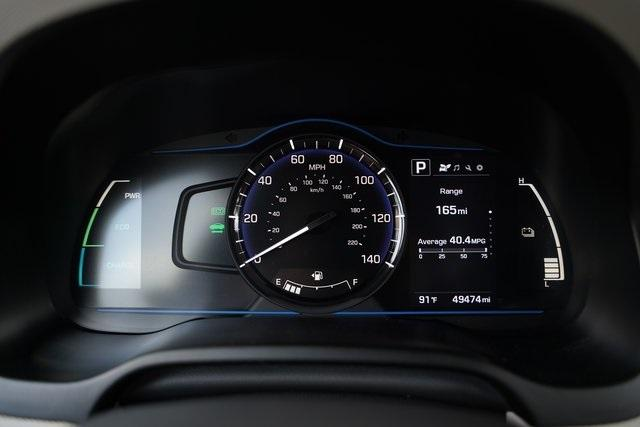 Used 2018 Hyundai Ioniq Hybrid Blue for sale Sold at Gravity Autos Roswell in Roswell GA 30076 20