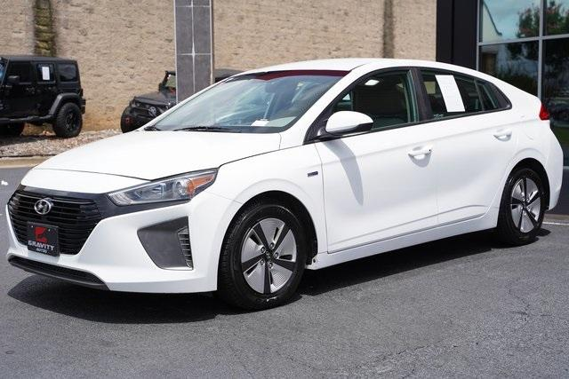 Used 2018 Hyundai Ioniq Hybrid Blue for sale Sold at Gravity Autos Roswell in Roswell GA 30076 5