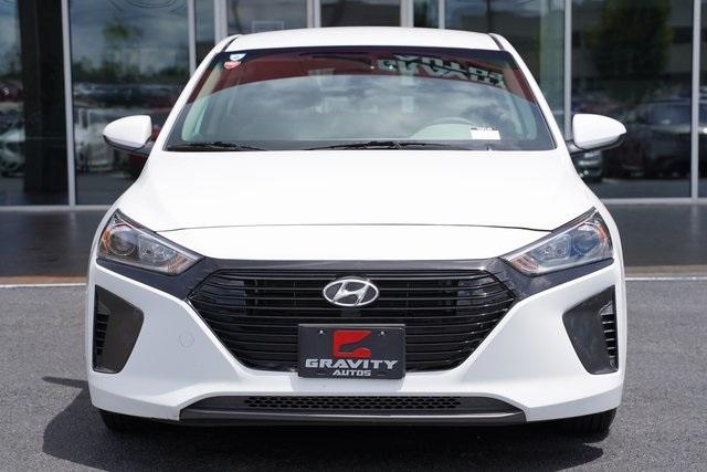 Used 2018 Hyundai Ioniq Hybrid Blue for sale Sold at Gravity Autos Roswell in Roswell GA 30076 6