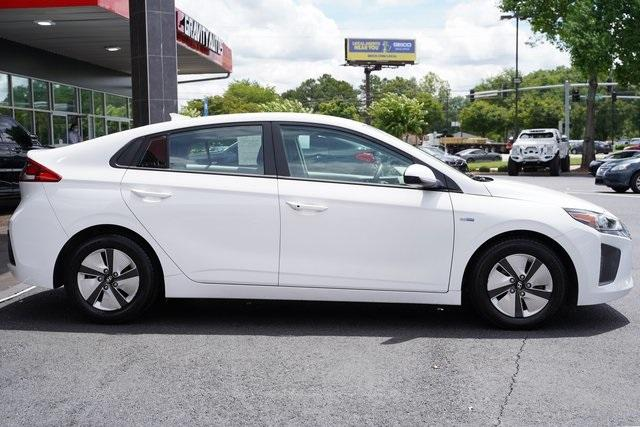 Used 2018 Hyundai Ioniq Hybrid Blue for sale Sold at Gravity Autos Roswell in Roswell GA 30076 8
