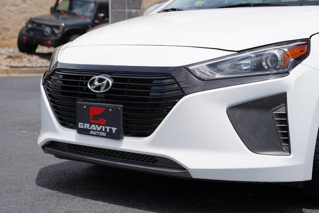 Used 2018 Hyundai Ioniq Hybrid Blue for sale Sold at Gravity Autos Roswell in Roswell GA 30076 9