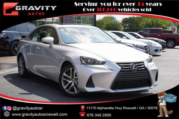 Used 2019 Lexus IS 300 for sale $34,991 at Gravity Autos Roswell in Roswell GA