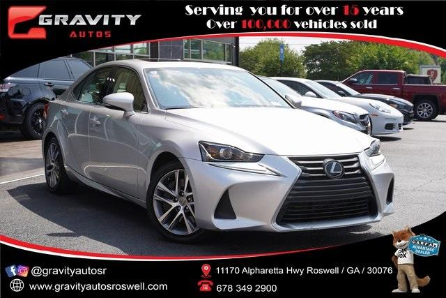 Used 2019 Lexus IS 300 for sale $34,991 at Gravity Autos Roswell in Roswell GA 30076 1