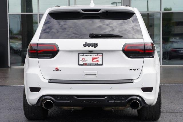 Used 2018 Jeep Grand Cherokee SRT for sale $64,992 at Gravity Autos Roswell in Roswell GA 30076 12