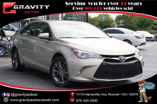 Used 2017 Toyota Camry SE for sale $18,991 at Gravity Autos Roswell in Roswell GA