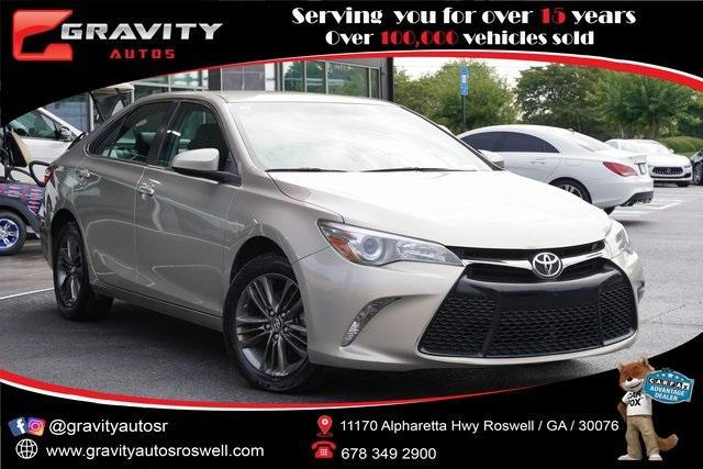 Used 2017 Toyota Camry SE for sale $18,991 at Gravity Autos Roswell in Roswell GA 30076 1
