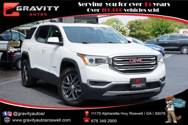 Used 2018 GMC Acadia SLT-1 for sale $34,492 at Gravity Autos Roswell in Roswell GA