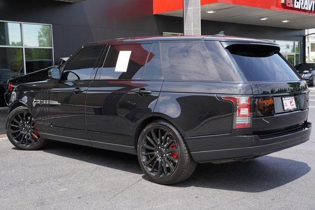 Used 2016 Land Rover Range Rover 5.0L V8 Supercharged for sale $66,991 at Gravity Autos Roswell in Roswell GA 30076 11