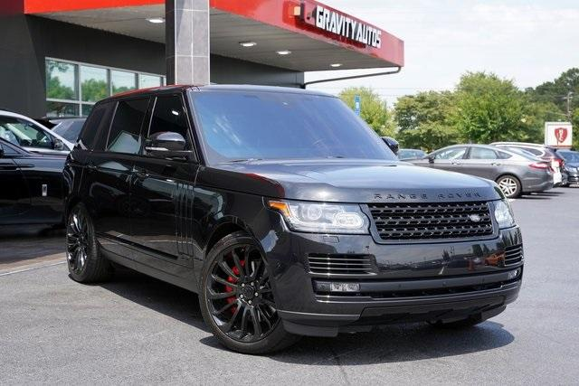 Used 2016 Land Rover Range Rover 5.0L V8 Supercharged for sale $66,991 at Gravity Autos Roswell in Roswell GA 30076 2