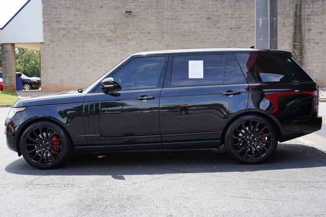 Used 2016 Land Rover Range Rover 5.0L V8 Supercharged for sale $66,991 at Gravity Autos Roswell in Roswell GA 30076 4