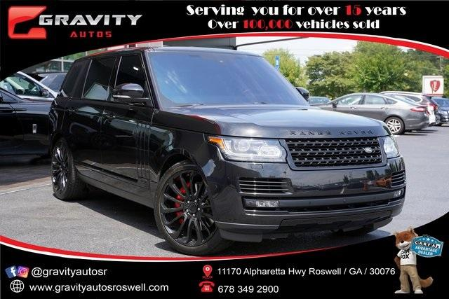 Used 2016 Land Rover Range Rover 5.0L V8 Supercharged for sale $66,991 at Gravity Autos Roswell in Roswell GA 30076 1