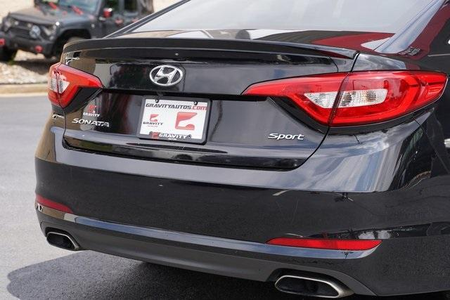Used 2017 Hyundai Sonata Sport for sale $16,991 at Gravity Autos Roswell in Roswell GA 30076 12