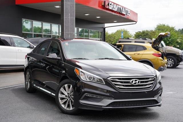Used 2017 Hyundai Sonata Sport for sale $16,991 at Gravity Autos Roswell in Roswell GA 30076 2