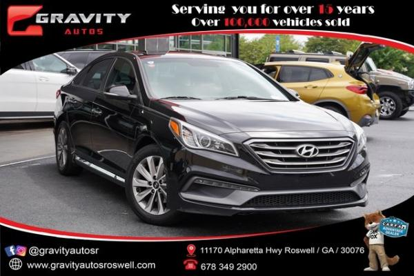 Used 2017 Hyundai Sonata Sport for sale $16,991 at Gravity Autos Roswell in Roswell GA