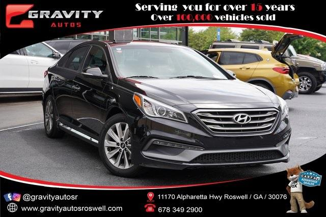 Used 2017 Hyundai Sonata Sport for sale $16,991 at Gravity Autos Roswell in Roswell GA 30076 1