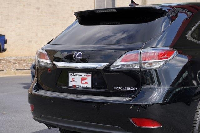 Used 2013 Lexus RX 450h for sale $17,992 at Gravity Autos Roswell in Roswell GA 30076 13