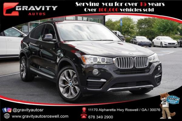 Used 2018 BMW X4 xDrive28i for sale $37,992 at Gravity Autos Roswell in Roswell GA