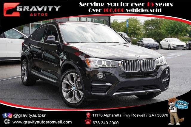 Used 2018 BMW X4 xDrive28i for sale $38,992 at Gravity Autos Roswell in Roswell GA 30076 1