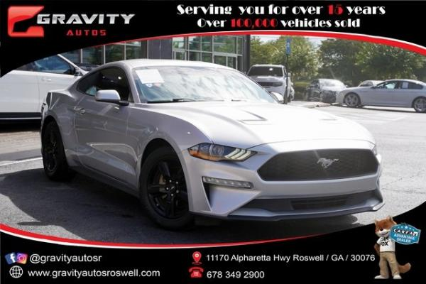Used 2018 Ford Mustang EcoBoost for sale $28,492 at Gravity Autos Roswell in Roswell GA