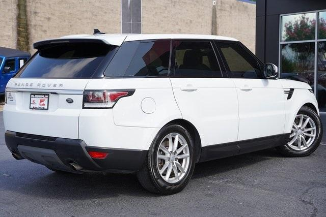 Used 2016 Land Rover Range Rover Sport 3.0L V6 Supercharged SE for sale $44,991 at Gravity Autos Roswell in Roswell GA 30076 13