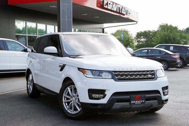 Used 2016 Land Rover Range Rover Sport 3.0L V6 Supercharged SE for sale $44,991 at Gravity Autos Roswell in Roswell GA 30076 2